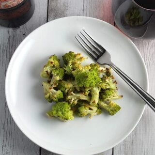 Roasted Romanesco: Try a new veggie today!