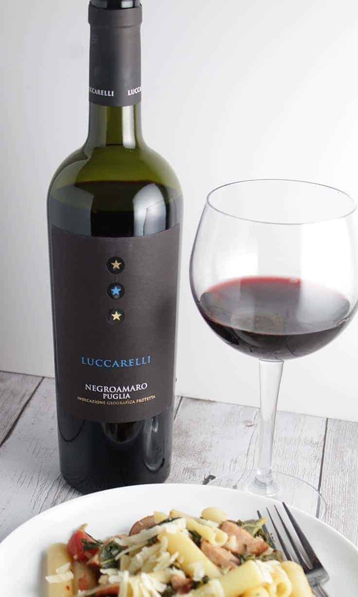Luccarelli Negroamaro is a delicious, food friendly wine from Puglia. Great wine value under $15.