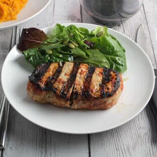 Grilled Chipotle Pork Chops #SundaySupper