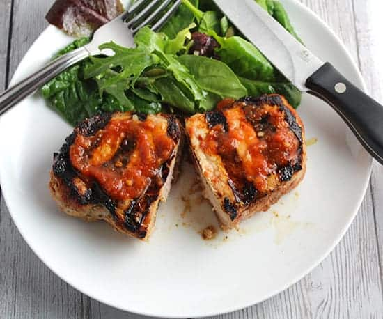 grilled chipotle pork chops