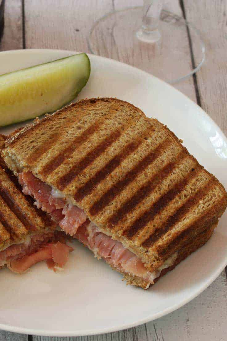 Serrano Ham Panini is a delicious sandwich recipe that makes good use of a special Spanish ham.