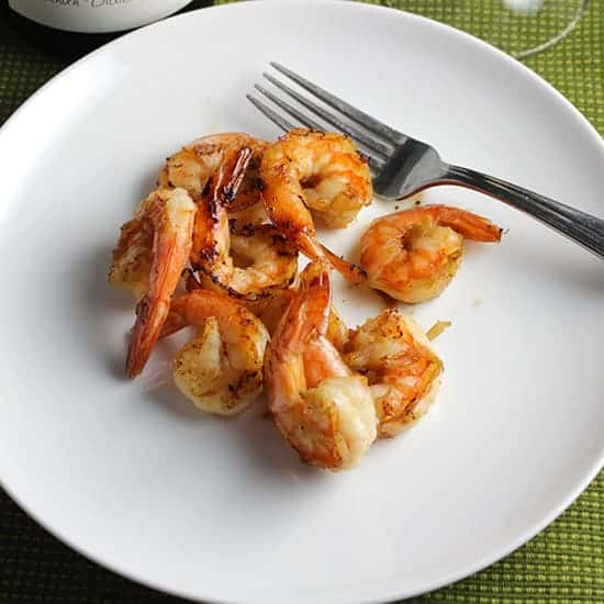 Simple Grilled Shrimp from favorite grilling recipes roundup.