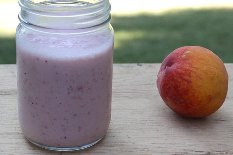 Dairy-Free Strawberry Peach Smoothie