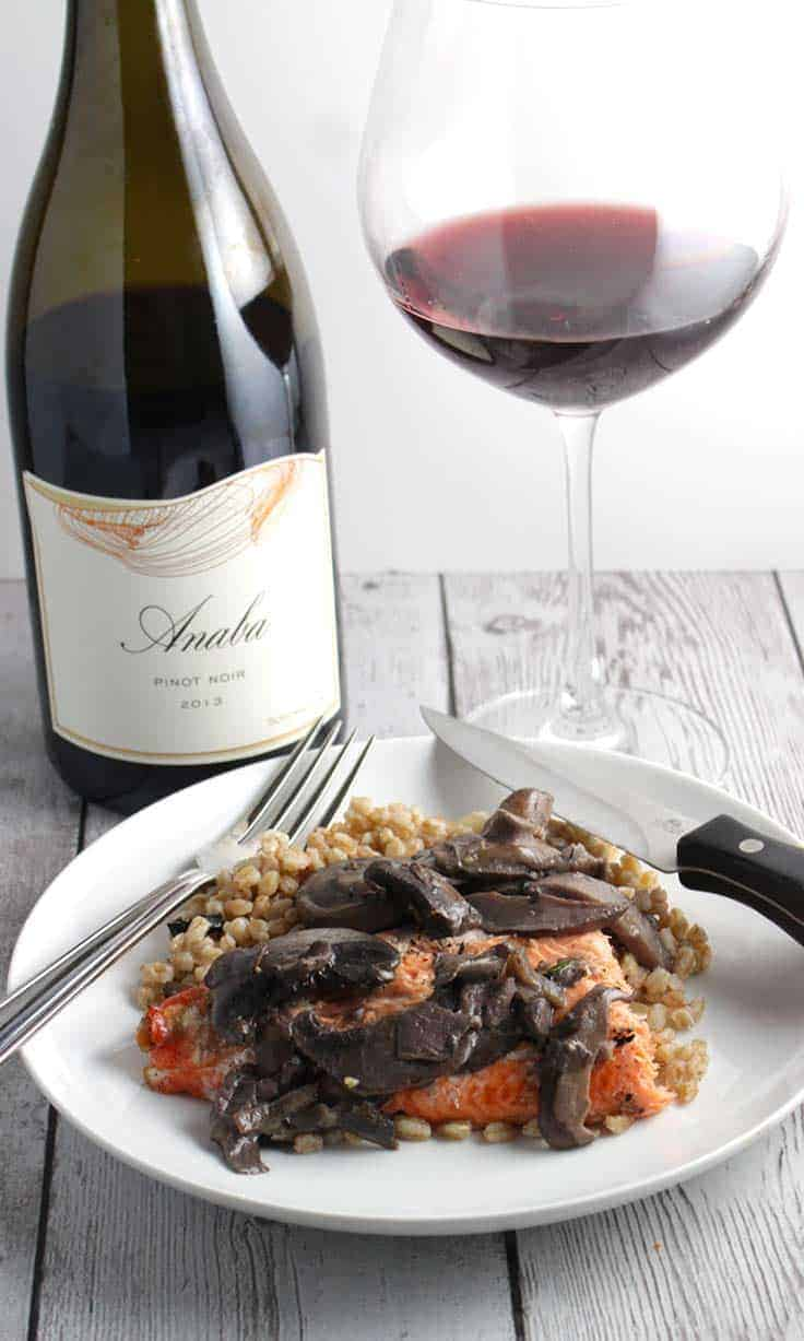Anaba Pinot Noir from the Sonoma Coast earns a spot on the Cooking Chat Gold Medal Wines list.