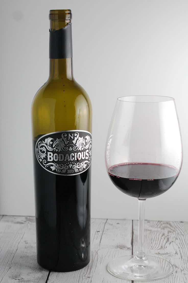 Bodacious is a tasty Napa Valley red wine blend.