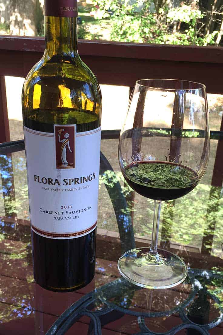 2013 Flora Springs Cabernet is wine worthy of a medal!