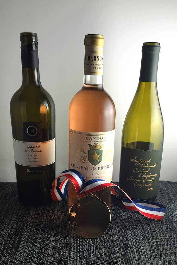 Gold Medal Wines article shares some favorite wine we have tried lately.