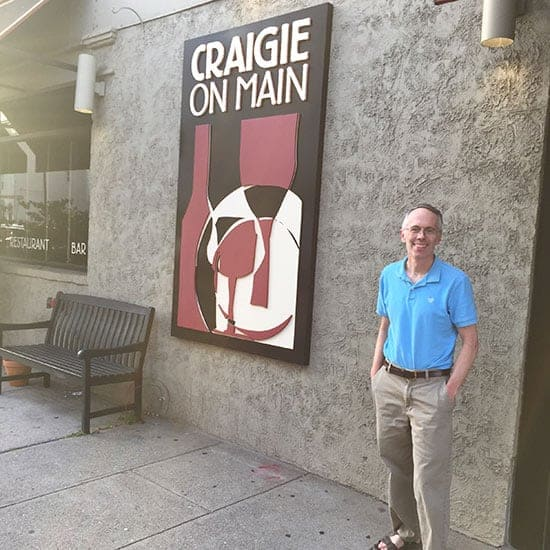 visiting Craigie on Main restaurant in Cambridge, MA
