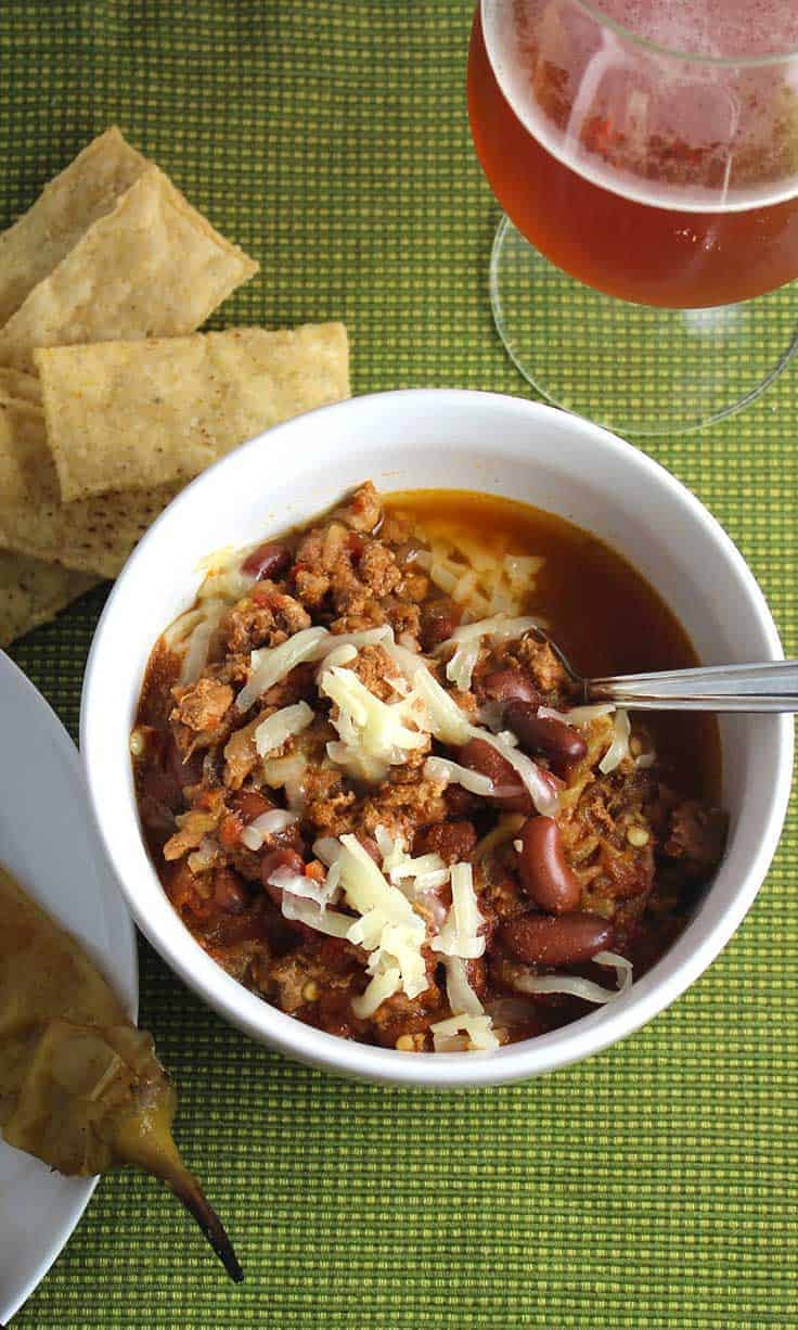 Dig into some Hatch Chili with Turkey recipe for a flavorful and healthy dinner!