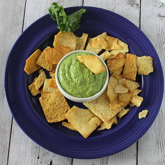 kale pesto dip recipe