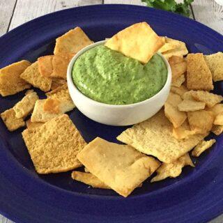 Kale Pesto Dip #SundaySupper