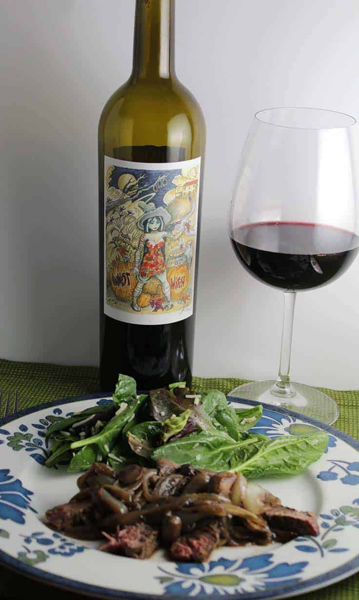 Harvest Witch Cabernet Sauvignon from Flora Springs is an excellent red wine from Napa.