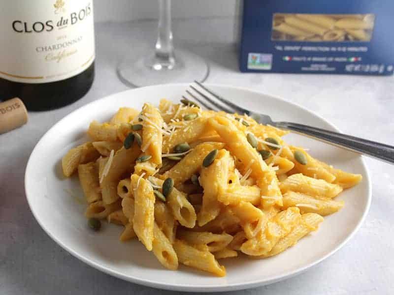 Creamy Pumpkin Penne Pasta recipe
