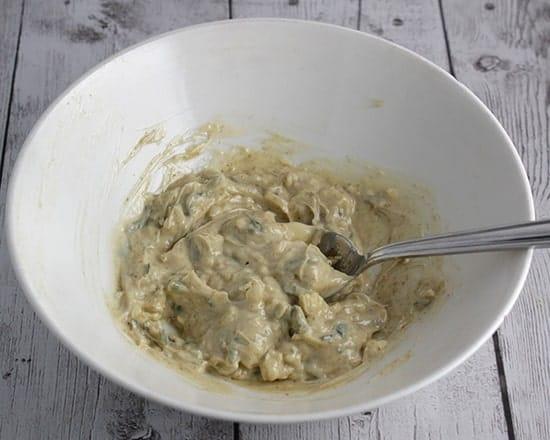 making cumin sage butter