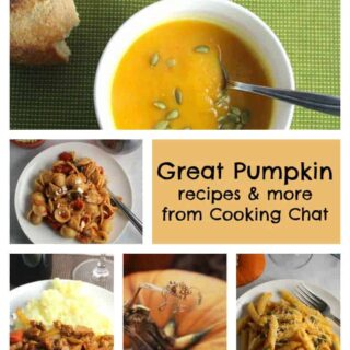 Great Pumpkin Recipes and more delicious ideas from Cooking Chat.