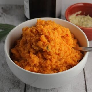 Sweet Potatoes with Cumin Sage Butter