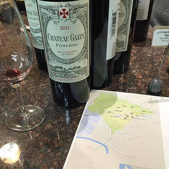 Chateau Gazin Pomerol, a gift-worthy wine.