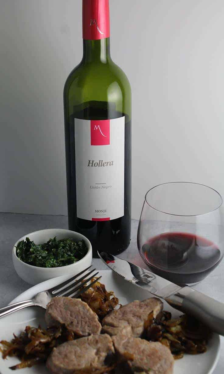 Montje Hollera Listan Negro is an interesting and tasty wine from the Canary Islands.
