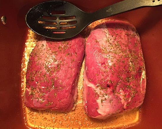 cooking duck breasts