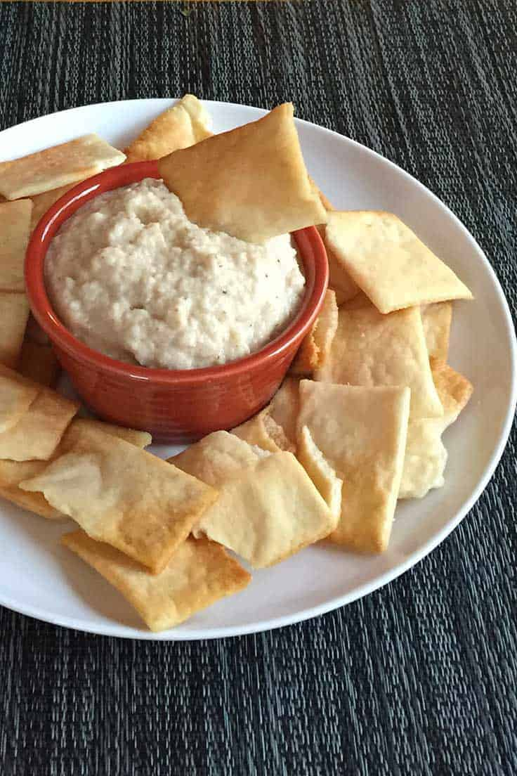 Curried Cauliflower Dip is a healthy and tasty game day recipe!