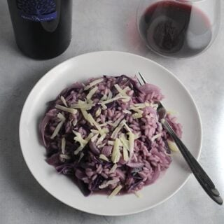 red cabbage risotto recipe