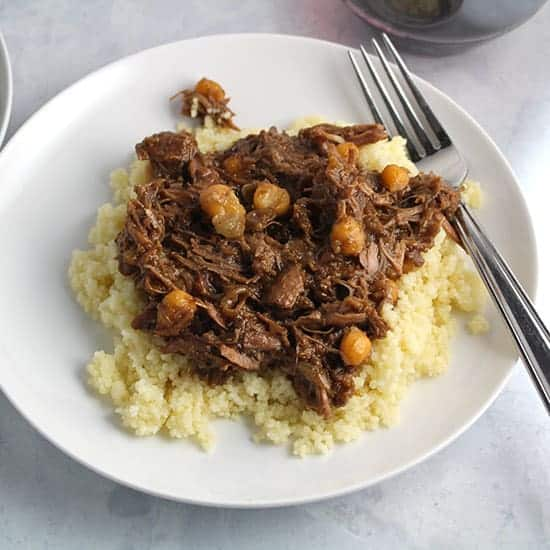 apricot lamb tagine is a favorite spring recipe!