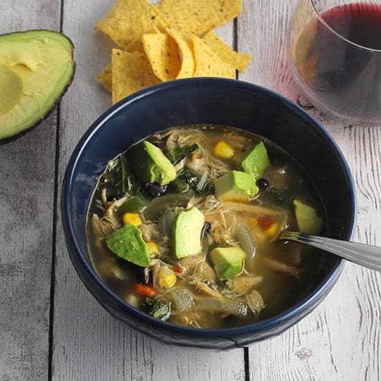 chipotle chicken and black bean soup recipe