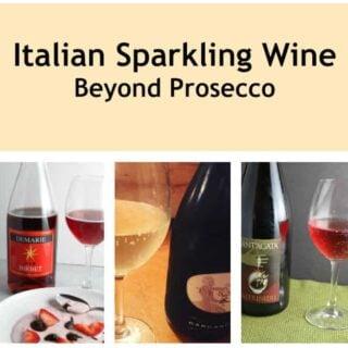 Italian Sparkling Wine Beyond Prosecco #ItalianFWT