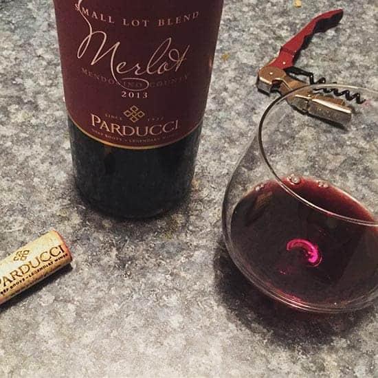 Parducci Merlot is a Cooking Chat June wine value pick.