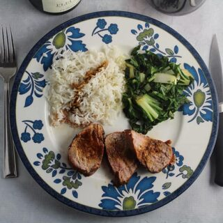 Asian Grilled Pork Tenderloin Recipe and Wine Pairing