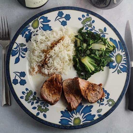 Asian Grilled Pork Tenderloin recipe