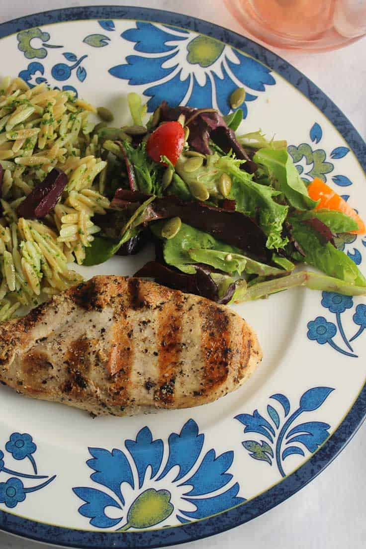 an easy marinade makes for tasty Mediterranean Grilled Chicken.