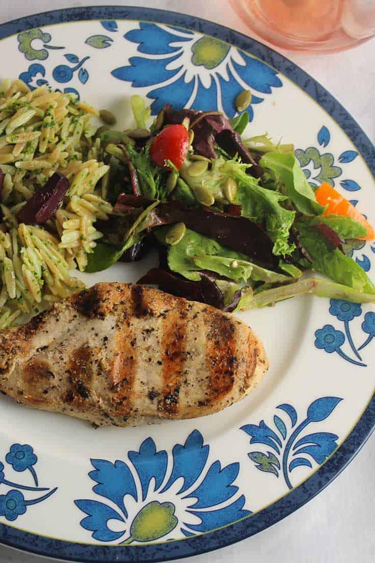 an easy marinade makes for tasty Mediterranean Grilled Chicken.