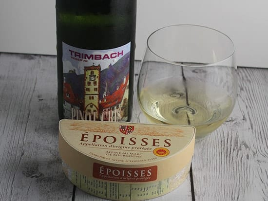 Try a Pinot Gris paired with an Époisses cheese.