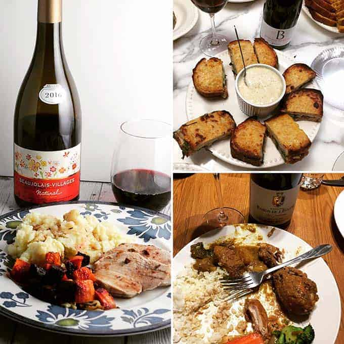 food friendly red wine from Beaujolais