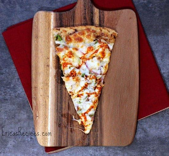 Buffalo Turkey Pizza from Erica's recipes