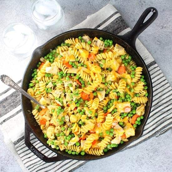 Turkey Noodle Casserole from Taste and See