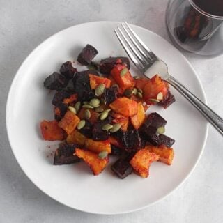 Roasted Beets and Butternut Squash #SundaySupper