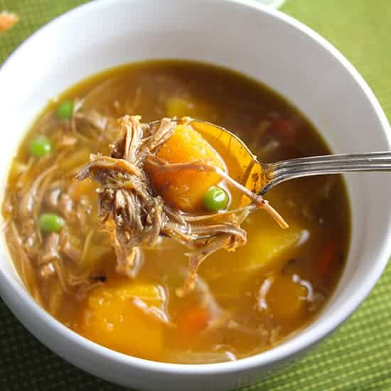 turkey and butternut squash stew