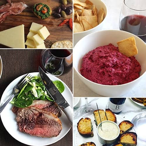 roundup of Christmas roast and appetizer recipes.