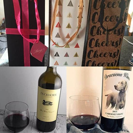 Giving the gift of wine is the December Wine Pairing Weekend theme.