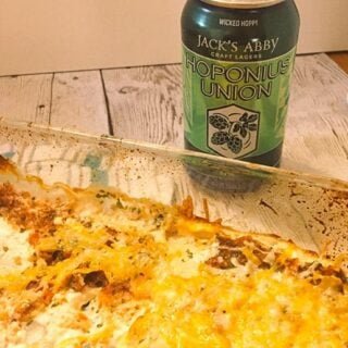 Hoponius Union Beer with Easy Mexican Dip