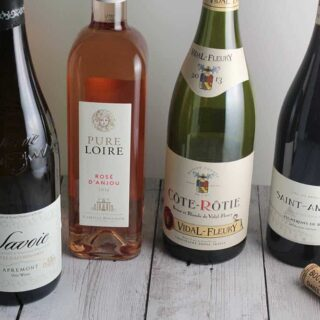 French Wine Picks and Pairings for Valentine's Day #winophiles