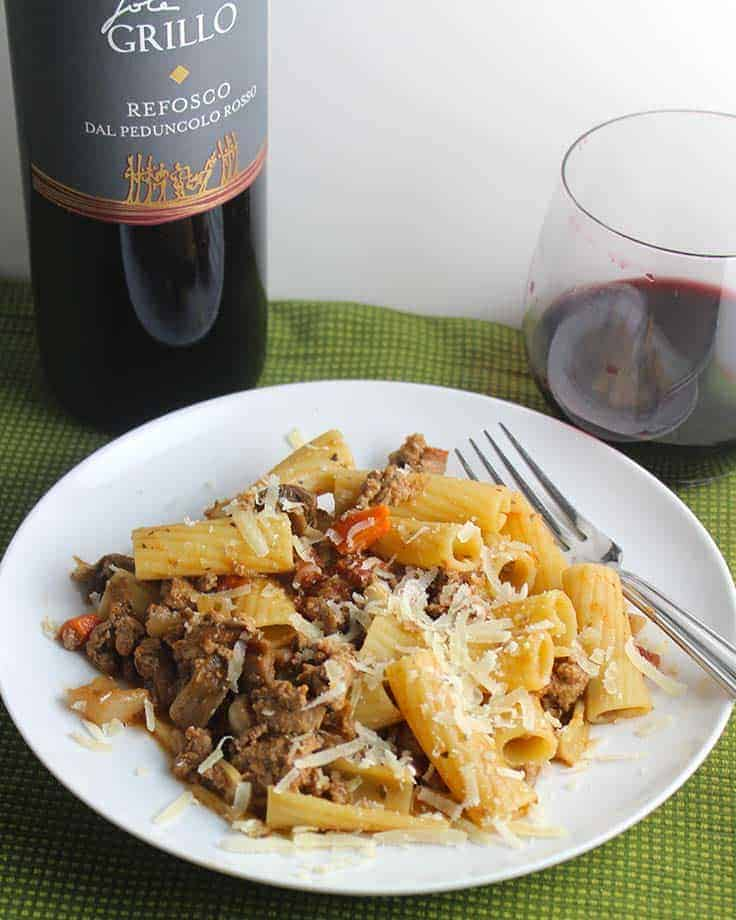 Grillo Refosco is a hearty red wine from Northern Italy.