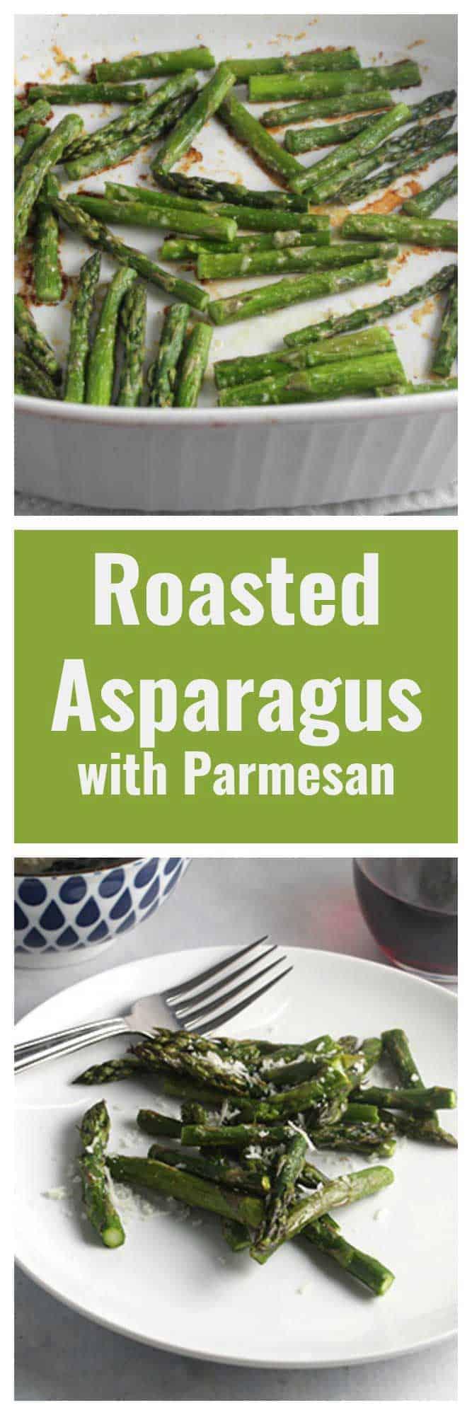Roasted Asparagus with Parmesanrecipe is an easy and tasty spring side dish. #SundaySupper #asparagus #roastedveggies #sidedish