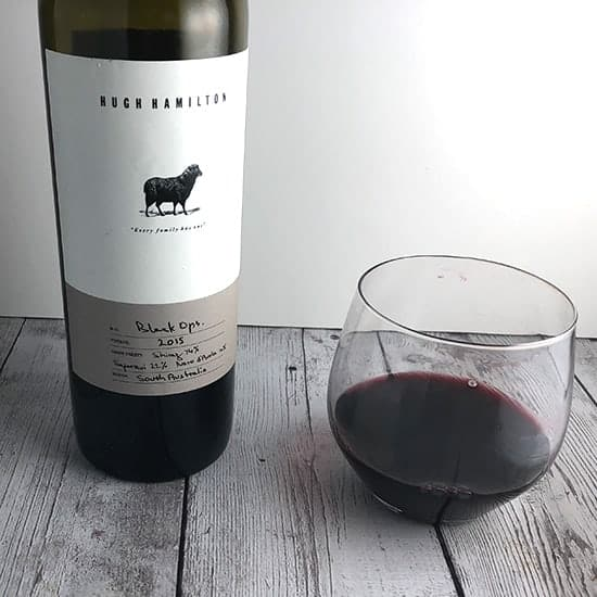 Hugh Hamilton Black Ops Shiraz based red wine blend