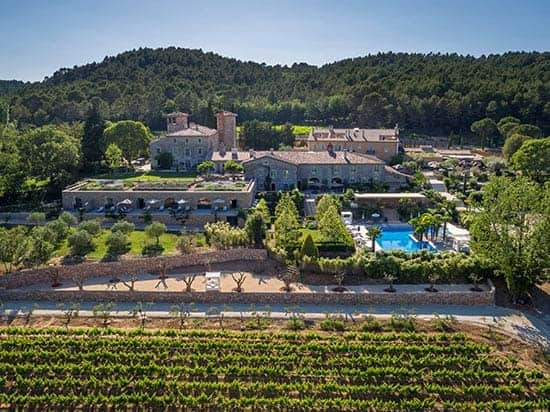 Chateau de Berne winery in Provence, France.