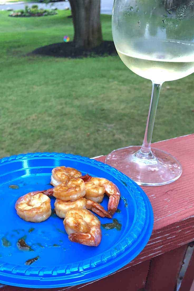 a crisp Rias Baixas Albariño makes a good pairing for shrimp.