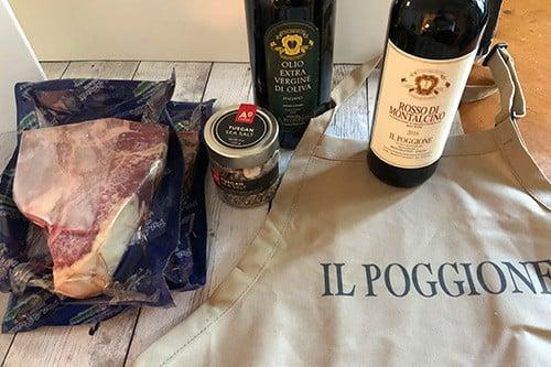 ingredients for Bistecca all Fiorentina