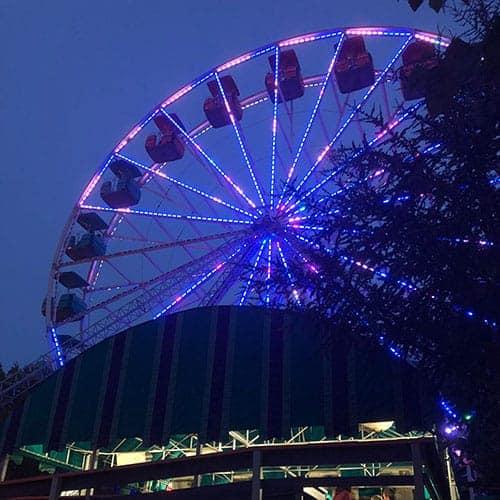 Ferris wheel at Canobie Lake